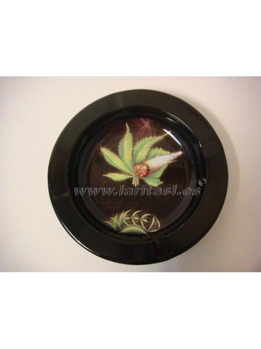 Cenicero metal Weed