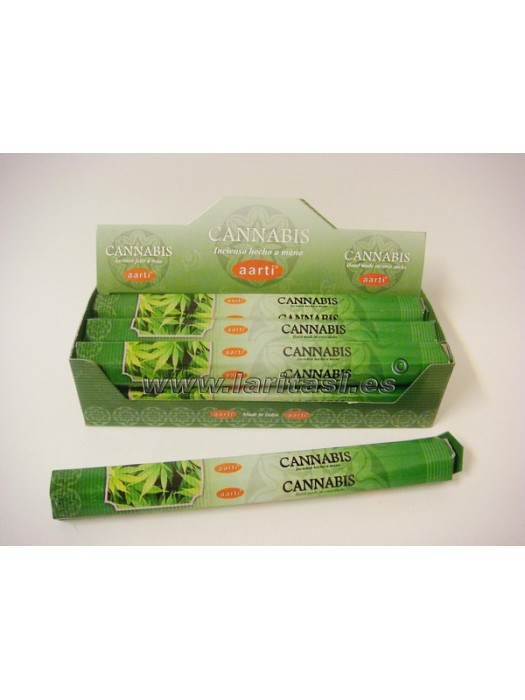 Incienso Aarti Cannabis (pack 6)