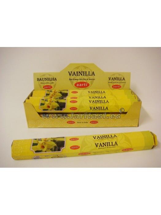 Incienso Aarti Vainilla (pack 6)