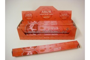 Incienso Aarti Amor (pack 6)