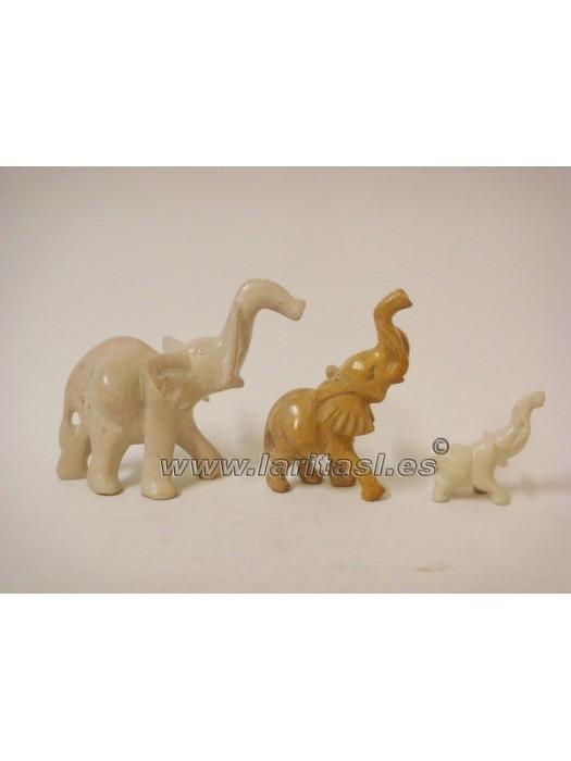 """Elefante pj blanco 5"""" (13cm)"""