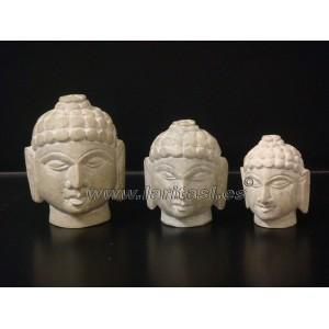"Cabeza Budha Piedra Jabon 2"" (5cm)"