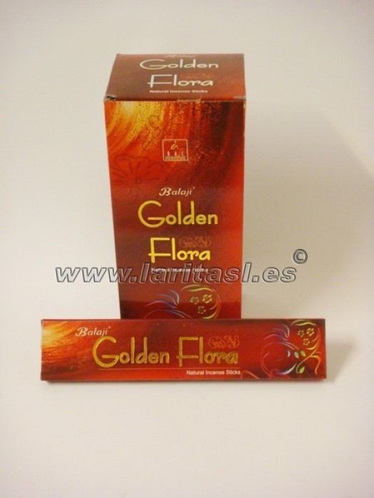 Incienso Balaji Golden Flora 15gr