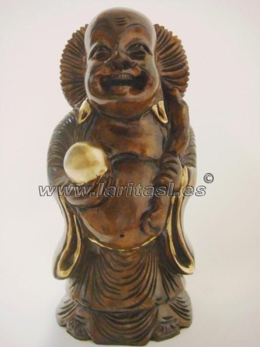 Budha de pie sonriendo 30cm