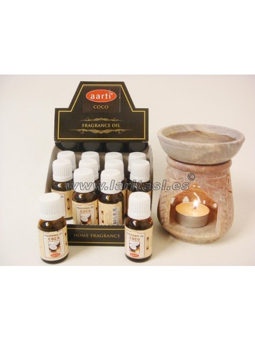 Aceite perfumado Aarti Coco 15ml (pack 12)
