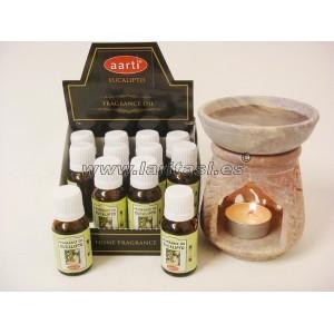 Aceite perfumado Aarti Eucalipto 15ml (pack 12)