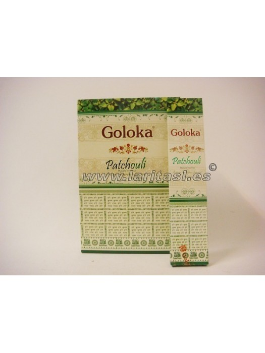 Goloka Pachuli 15gr (pack 12)