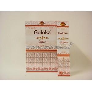 Goloka Saffron (Azafran) 15gr (pack 12)
