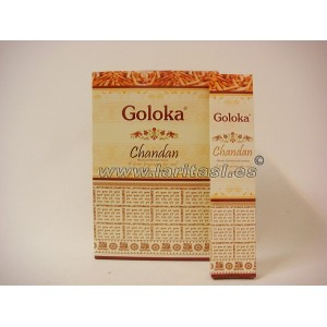 Goloka Chandan 15gr (pack 12)