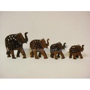 Familia Elefante 5 piezas