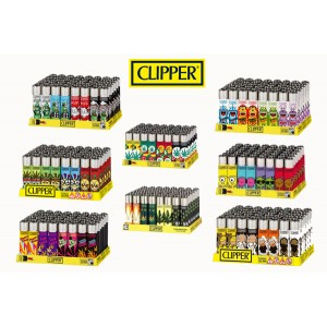 Mecheros Clipper Diseños Surtidos