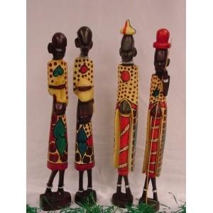 Esqueleto Massai 4 pulgadas (pareja)