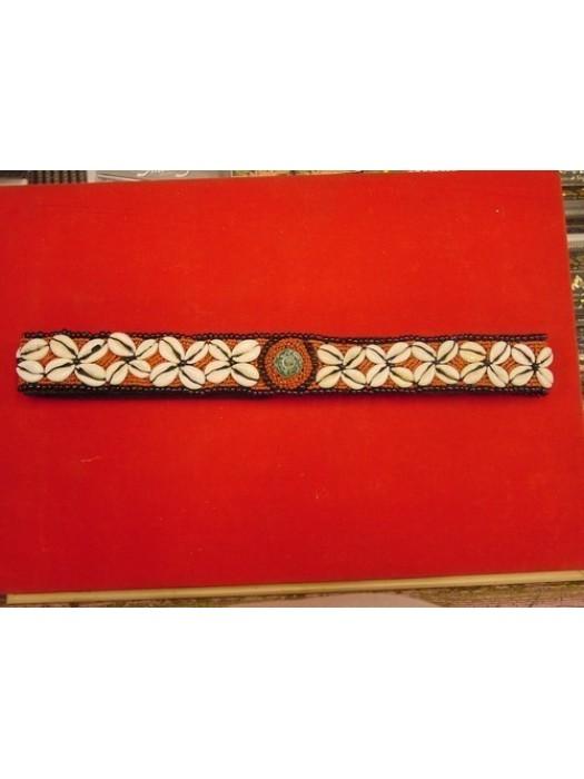 Cinturon 2 conchas rojo