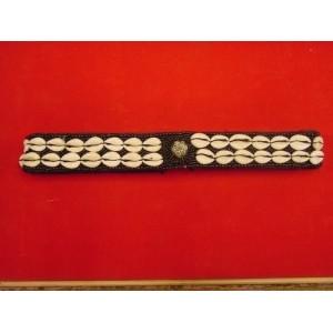 Cinturon 2 conchas negro