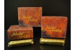 Carbon Aladin Golden 33mm (pack 10 tubos)