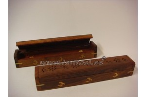 Deluxe Flat Box incense burner
