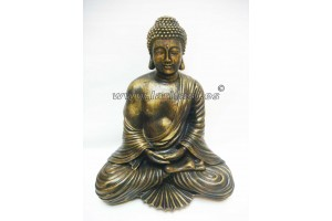 Resin Budha Figure golden