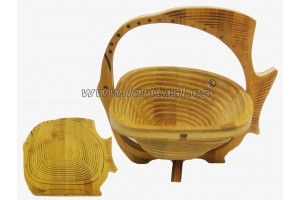 Bamboo basket Fish
