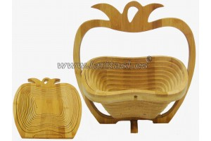 Bamboo basket Apple
