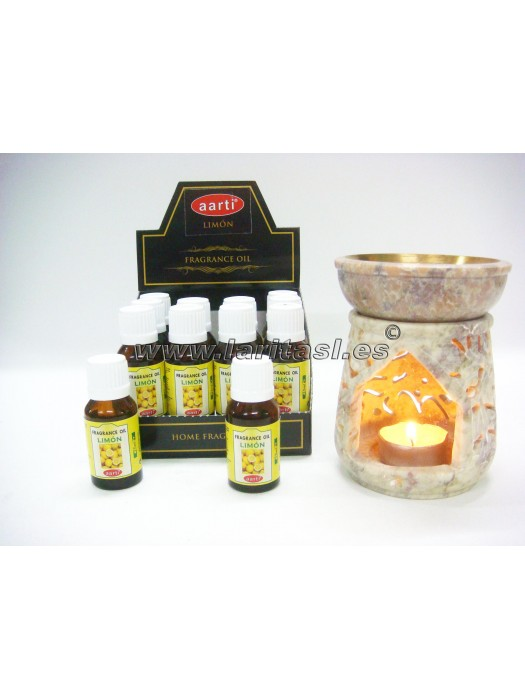 Aceite perfumado Aarti Limon 15ml (pack 12)