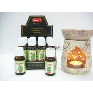 Aceite perfumado Aarti Pachuli 15ml (pack 12)