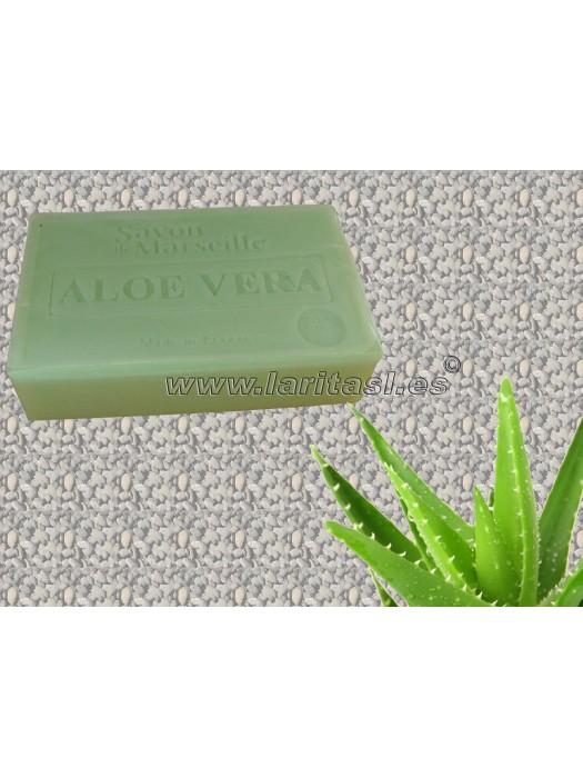 Jabon Natural Aloe Vera 100g (6 unidades)