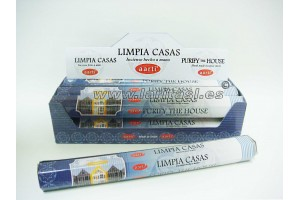 Incienso Aarti Limpiacasas (pack 6)