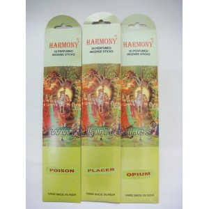 Incienso Harmony Poison (12 x 20 sticks)
