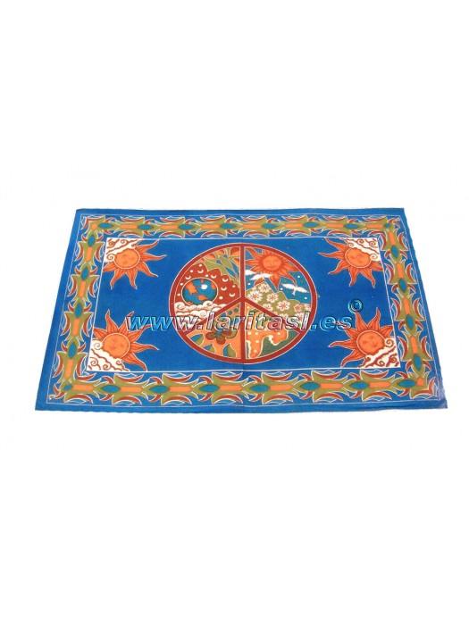 Cubrecamas Paz Azul (135x210)
