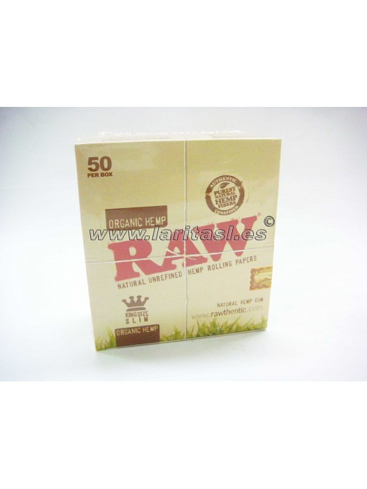 Papel Raw King Size (largo) Orgánico